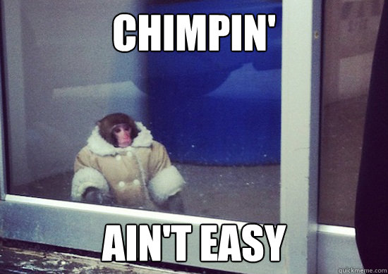 chimpin aint easy - Ikea Monkey