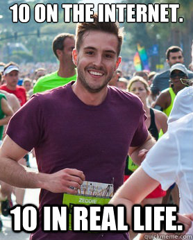 10 on the internet 10 in real life - Ridiculously photogenic guy