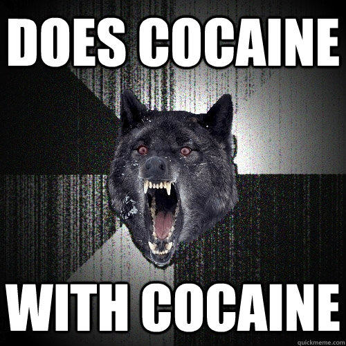 does cocaine with cocaine - Insanity Wolf