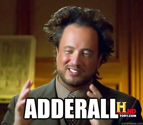 adderall - Aliens Kill people