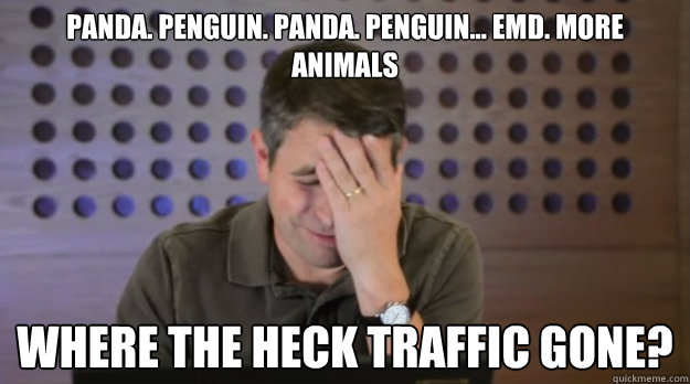panda penguin panda penguin emd more animals where th - Facepalm Matt Cutts