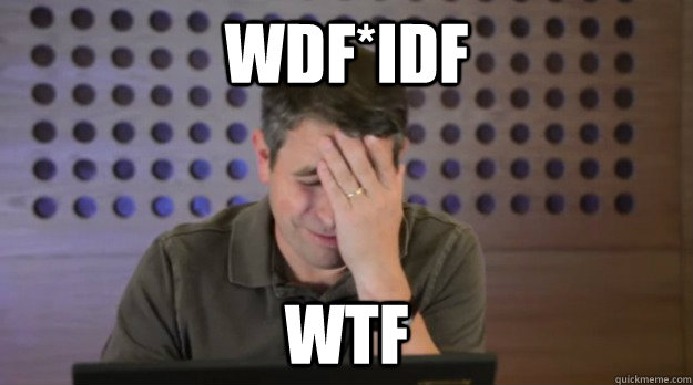 wdfidf wtf - Facepalm Matt Cutts
