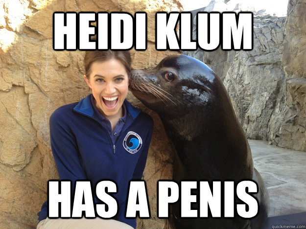heidi klum has a penis - Crazy Secret