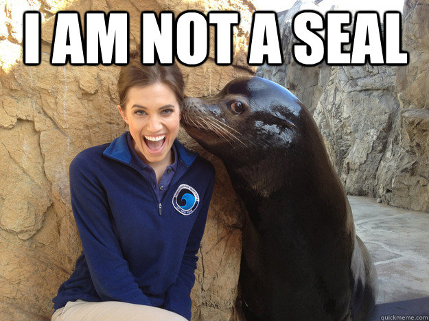 i am not a seal  - Crazy Secret