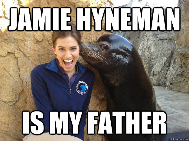 jamie hyneman is my father - Crazy Secret