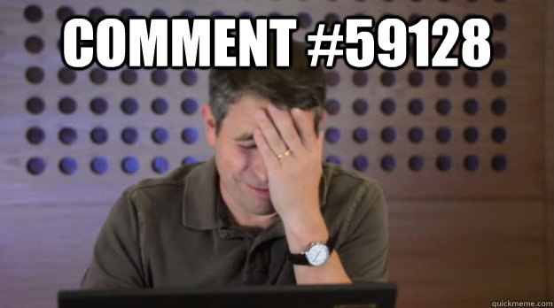 comment 59128  - Facepalm Matt Cutts