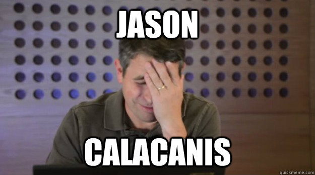jason calacanis - Facepalm Matt Cutts