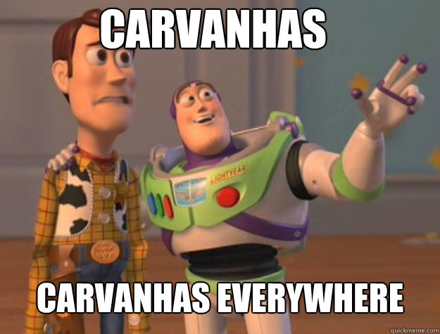carvanhas carvanhas everywhere - Basic Bitches Everywhere