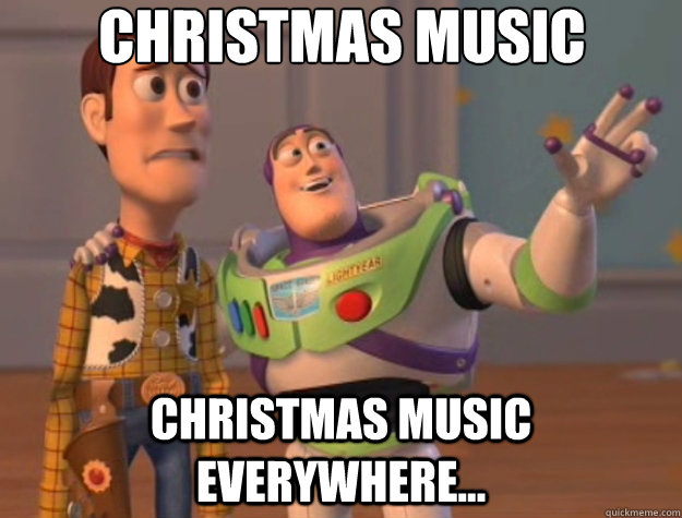 christmas music christmas music everywhere - Toy Story