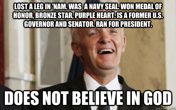 lost a leg in nam was a navy seal won medal of honor br - Bad Ass Bob Kerrey