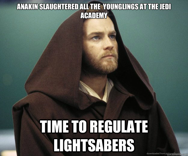 anakin slaughtered all the younglings at the jedi academy t -