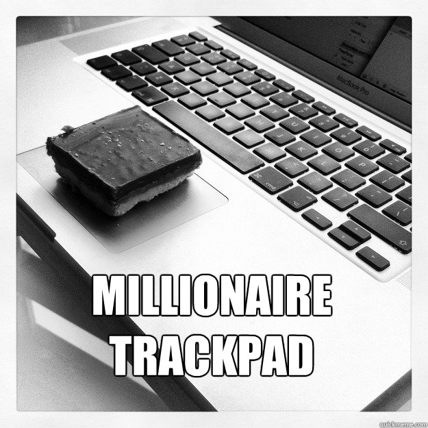 millionaire trackpad - 