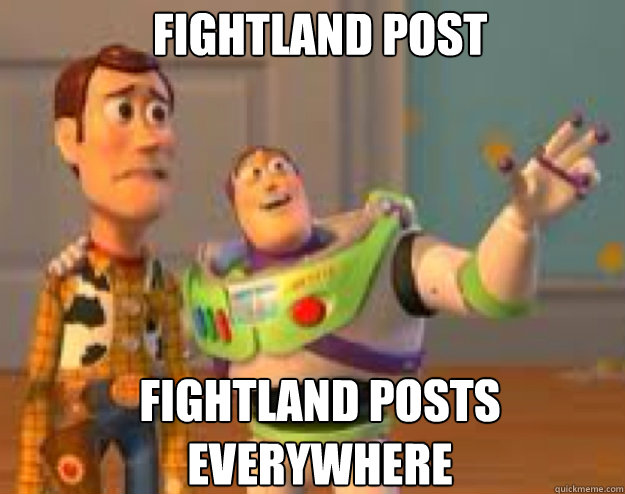 fightland post fightland posts everywhere - Woody and Buzz everywhere