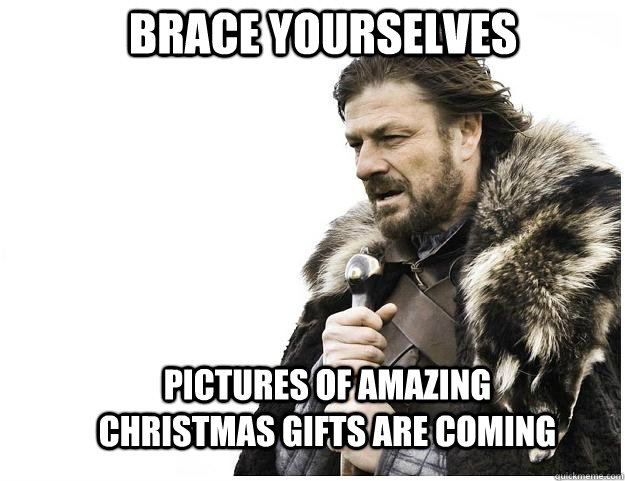 brace yourselves pictures of amazing christmas gifts are com - Imminent Ned