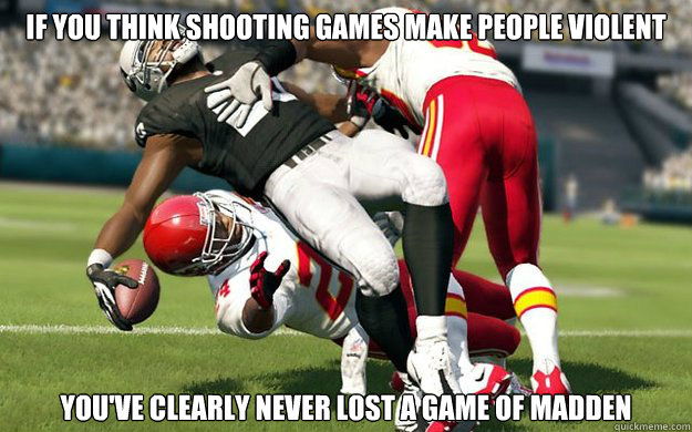 if you think shooting games make people violent youve clear -