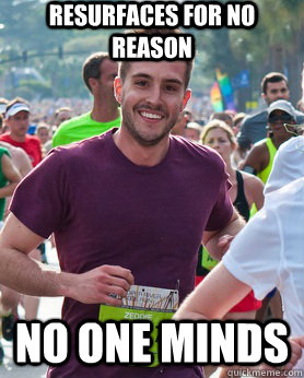 resurfaces for no reason no one minds - Ridiculously photogenic guy