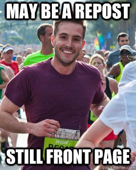 may be a repost still front page - Ridiculously photogenic guy