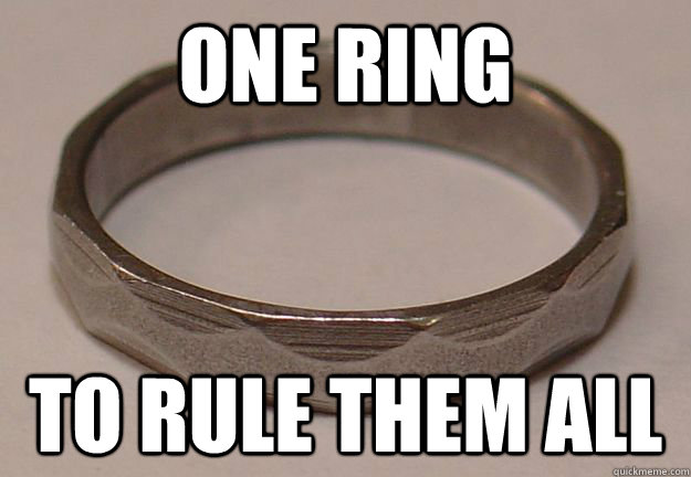 one ring to rule them all - Engineering