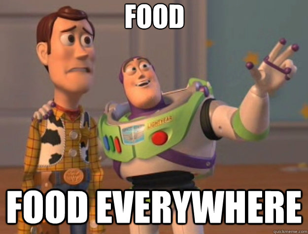 food food everywhere - Toy Story