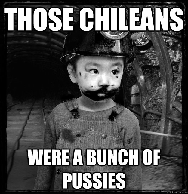 those chileans were a bunch of pussies - 