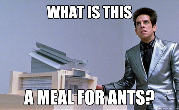 what is this a meal for ants - Planetside Zoolander