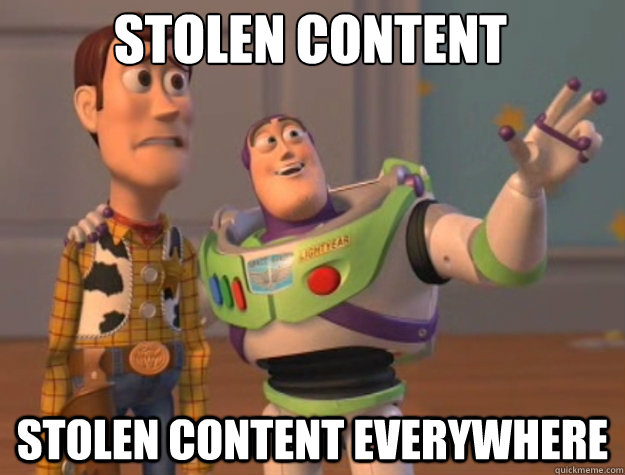 stolen content stolen content everywhere - toystory everywhere