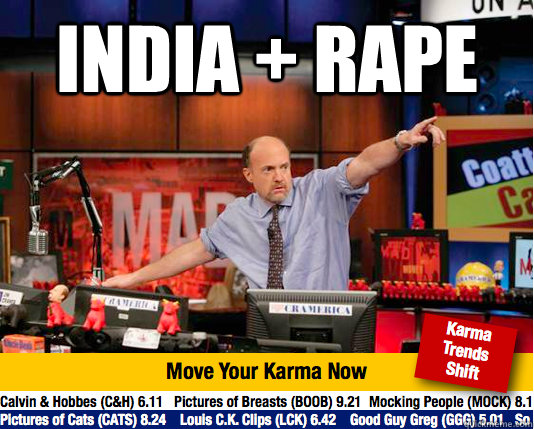 india rape  - move your karma now