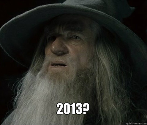 2013 - Forgetful Gandalf