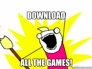 download all the games - All The Things