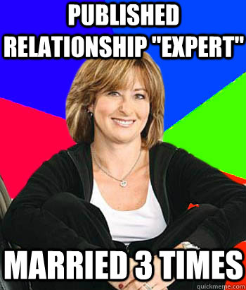 published relationship expert married 3 times - Sheltering Suburban Mom