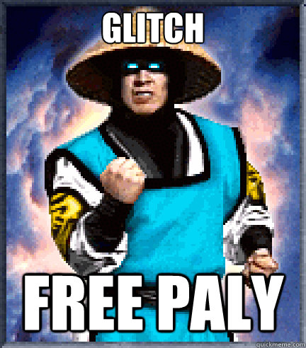 glitch free paly - success raiden