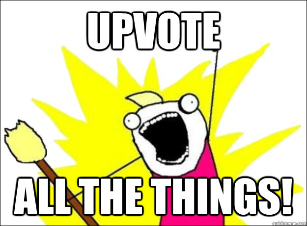 upvote all the things - when browsing raww