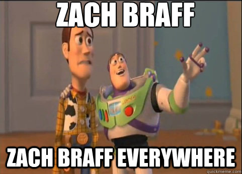 zach braff zach braff everywhere - Americans, Americans Everywhere