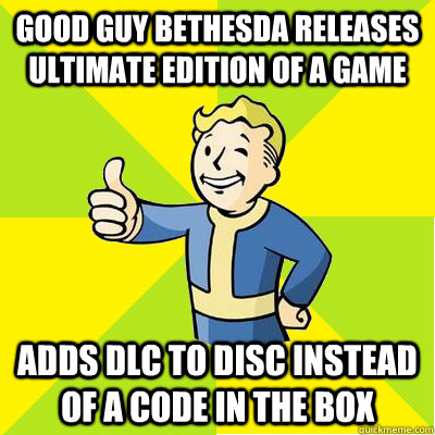 good guy bethesda releases ultimate edition of a game adds d - Fallout new vegas