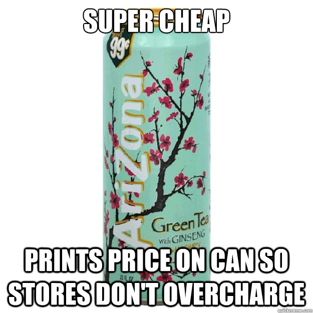 super cheap prints price on can so stores dont overcharge - Good Guy Arizona
