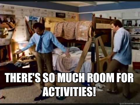  Theres so much room for activities - Step Brothers Bunk Beds