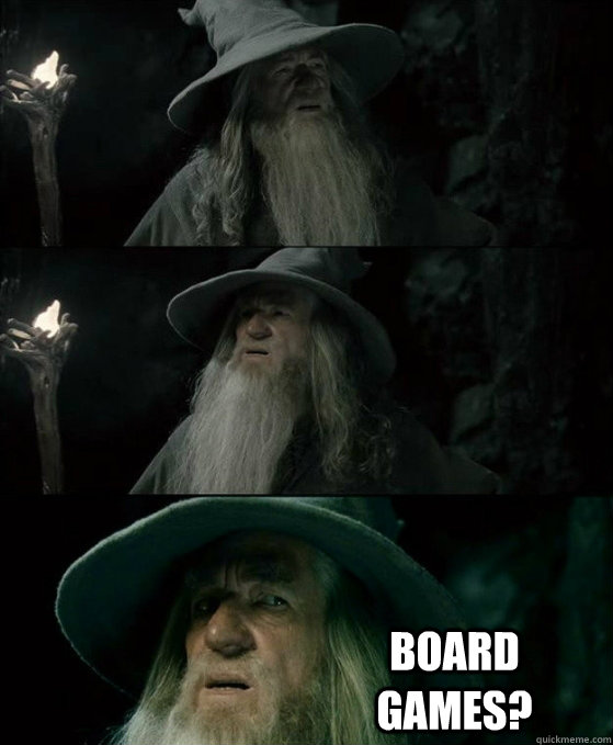 board games - No memory Gandalf