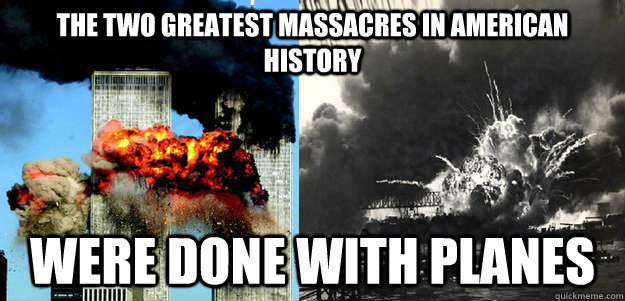 the two greatest massacres in american history were done wit - 