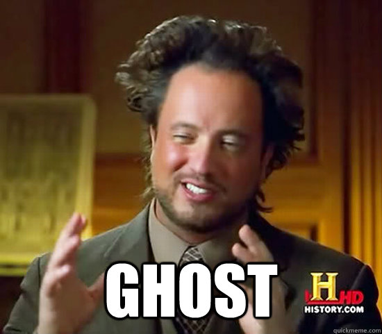 ghost - Ancient Aliens