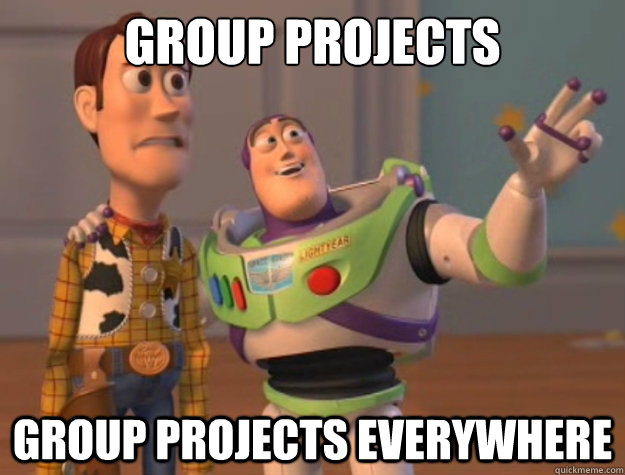 group projects group projects everywhere - Buzz Lightyear