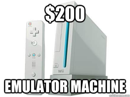 200 emulator machine - WII Da Best