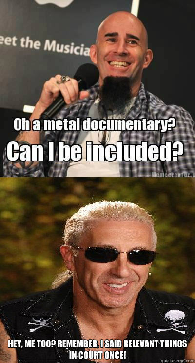 hey me too remember i said relevant things in court once - metaldoc