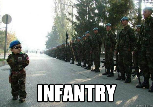 infantry - Army child