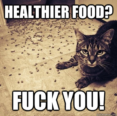 healthier food fuck you -