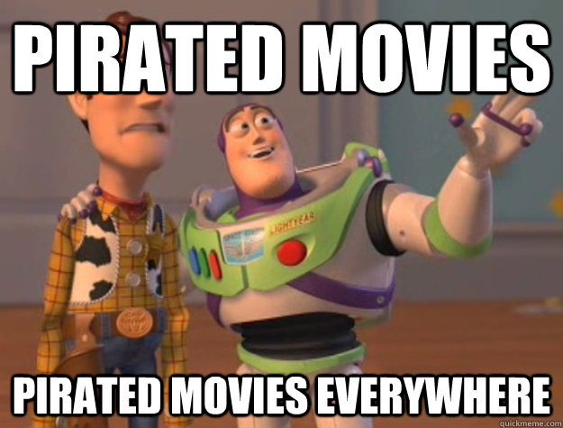 pirated movies pirated movies everywhere - Buzz Lightyear