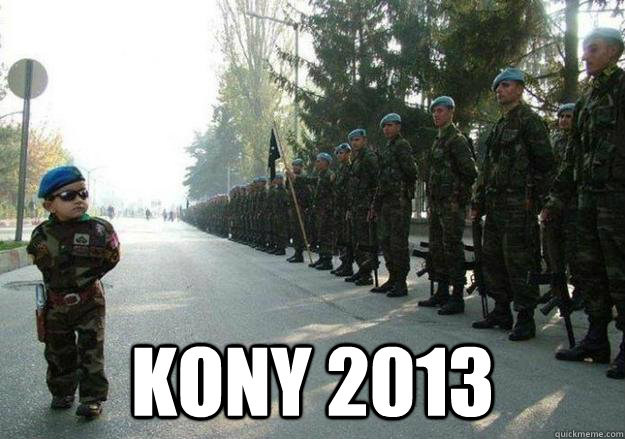 kony 2013 - Army child