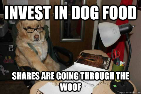 invest in dog food shares are going through the woof - Financial Advice Dog