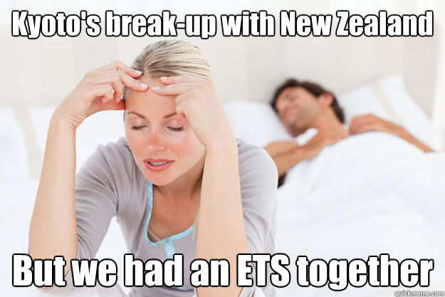 kyotos breakup with new zealand but we had an ets together - Kyoto New Zealand break-up