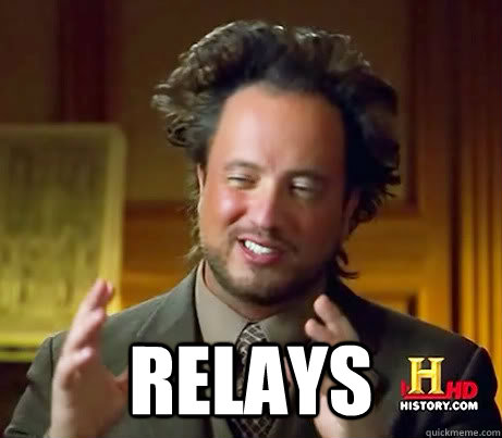 relays - History Channel Guy