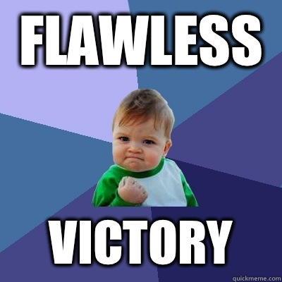 Flawless Victory - Success Kid
